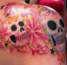 sugar skull meaning on shoulder for insigniatattoo com