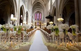 church decorations for wedding creative church wedding decorations easyday