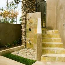 Outdoors Shower - refreshing and invigorating outdoor showers surfaces usa