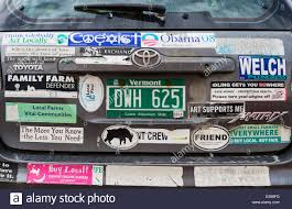 Vermont travel stickers images Covered in stickers stock photos covered in stickers stock jpg