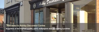 Ashby Decorator Centre Paint and Decorating Suppliers North