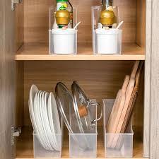 kitchen cabinet storage containers 2021 kitchen plastic box cabinet organizer storage