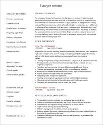 free resume templates pdf lawyer resume templates 5 free documents in pdf psd