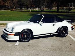 porsche 911 targa white porsche 911 targa 1988 grand prix white for sale