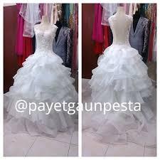 wedding dress brokat payetgaunpesta payetgaunpesta instagram photos and