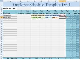Employee Schedule Template Excel Employee Schedule Template Excel Excel Project