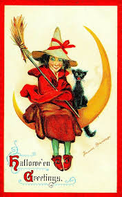 476 best all hallows eve halloween vintage cards images on