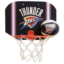 oklahoma city thunder softee hoop set toys