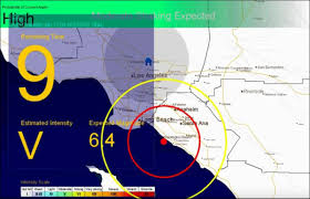 Earthquake Los Angeles Map by Researchers Say Future Appears Grim For Earthquake Early Warning