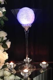 Martini Glass Centerpieces Centrepieces
