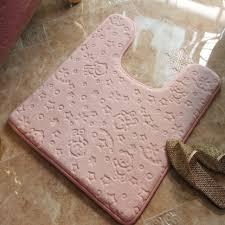 Fluffy Bathroom Rugs Fluffy Home Decor Carpet Bathroom Mat For Toilet Bathroom Rug