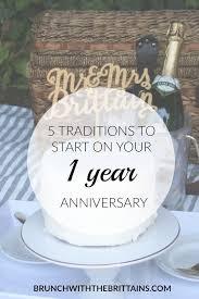 1 year wedding anniversary gift best 25 anniversary ideas on year