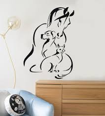 vinyl decal animals pet horse dog cat veterinary wall stickers vinyl decal animals pet horse dog cat veterinary wall stickers ig2952