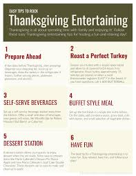 simple thanksgiving entertaining tips