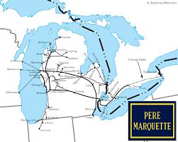 Flint Michigan Map Michigan U0027s Pere Marquette Railroad And The U0027ottawa Yard U0027 Erie Mi