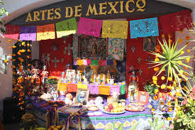 day of dead bazaar mundo shops