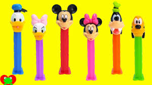 mickey mouse club house pez dispensers minnie mouse