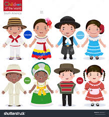 traditional costume clipart argentina pencil and in color