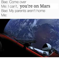 Meme Space - the top 10 spacex falcon heavy starman memes ranked nsfw