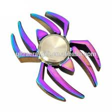 rainbow metal color spider man spiderman fidget hand spinner buy