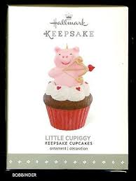 hallmark keepsake ornament 2016 cupiggy cupcake february in