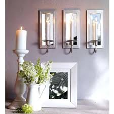 Gold Wall Sconces For Candles Sconce Gold Wall Mounted Candle Sconce Medieval Candle Holder