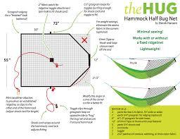 diy hammock half bug net hug instructions the ultimate hang
