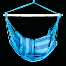 Patio Swing Chair by Patio Swing Hanging Chair Seat Blue Teal Outdoor Camping