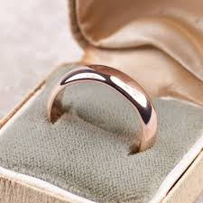 mens wedding simple handmade mens wedding ring in 9ct or 18ct gold by alison