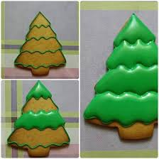 19 best christmas tree cookies images on pinterest decorated