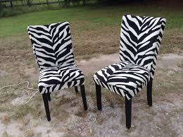 Zebra Dining Room Chairs by Dining Room Zebra Chairs