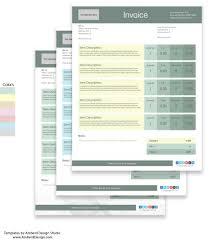 free adobe illustrator invoice templates amberd design studio