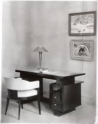 Black Desk And Chair Desk And Chair By Old Maxime 1910 1991 Furniture Valerio