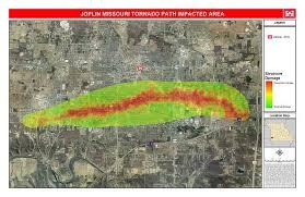tornado map joplin tornado path map storagecraft technology corporation