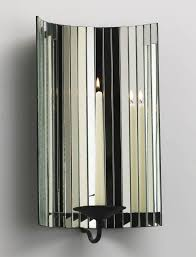 Mirrored Wall Sconce Wall Sconce Candle Holder Thepoultrykeeper Club Regarding Mirrored