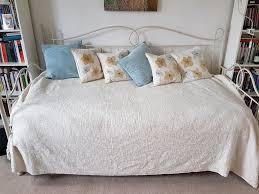 laura ashley vivien daybed trestle u0026 2 pocket sprung mattresses
