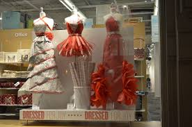 container store christmas wrapping paper wrappers delight the container store displays gift wrap dresses