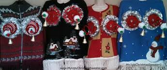 Ugly Christmas Decorations - ugly christmas sweater pictures funny outrageous tacky christmas
