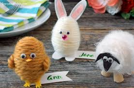 how to make easter eggs how to make easter egg place cards