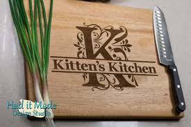 monogramed cutting boards store had it made