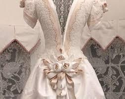 vintage wedding gown etsy
