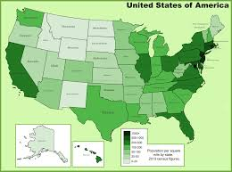 map of us states based on population usa maps maps of united states of america usa u s