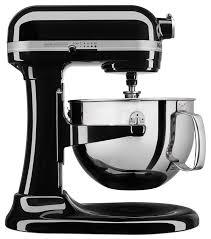 kitchenaid mixer black amazon com kitchenaid kl26m1xob professional 6 qt bowl lift