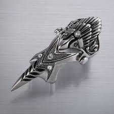 gothic rings men images Free shipping men 39 s rings gothic rings punk pewter tribal finger jpg