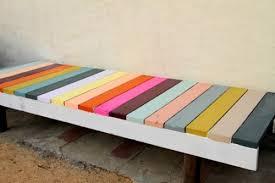 ikea bench hack colorful diy ikea sigurd bench hack shelterness