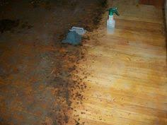 to remove years worth of carpet glue and ground in dirt on a