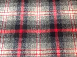 Red Plaid Upholstery Fabric Ralph Lauren Wool Upholstery Fabric Bridle Trail Plaid Campfire