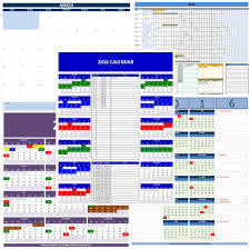 excel calendar template 2017 2018 or any year templates 2016