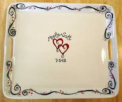 wedding platter guest book 17 best images about i hear wedding bells on ceramics