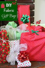 diy reusable fabric gift bags suburban wife city life